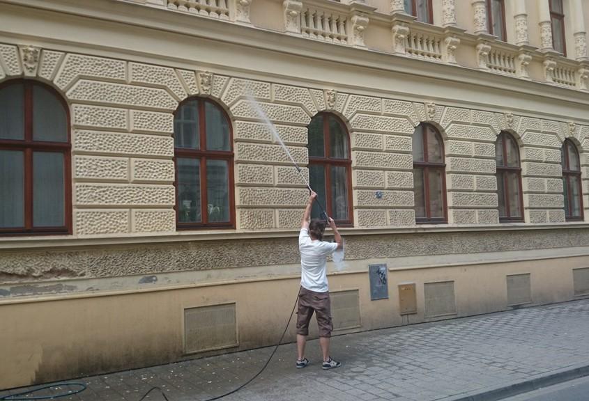 Protiplísňový nátěr - odstranění mechů a plísní Brno